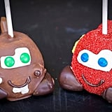 Lightning McQueen and Tow Mater Apples