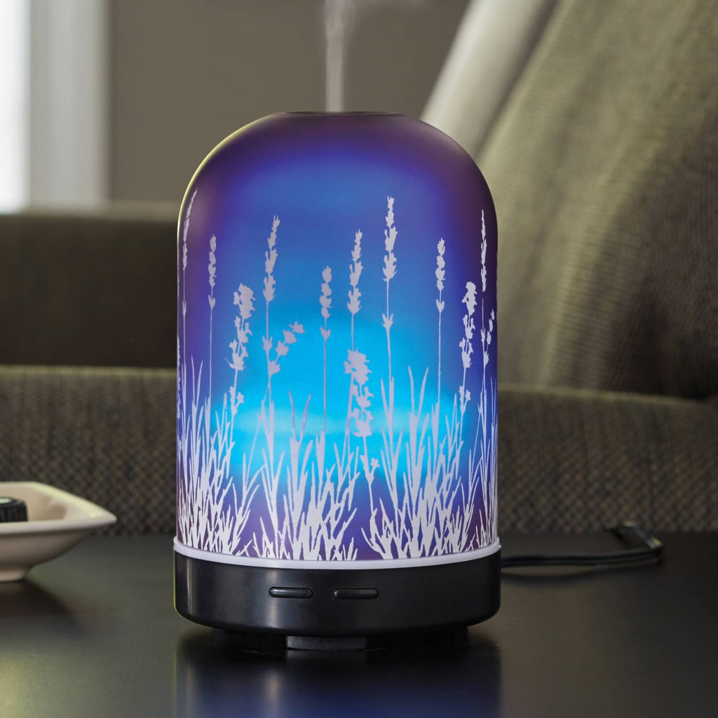 Essential Oil Diffuser Walmart ~ Piece lavender fields ml diffuser and essential oil
