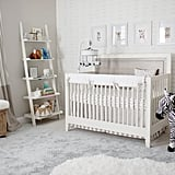 """I prefer neutral designs, so not knowing the gender while designing the nursery wasn't a huge challenge. I like to add dimension with different textures in the whites, creams, and grays so the room would feel comfortable for the baby and me, and I think we nailed it!"" Catherine said. MyRoom Convertible Crib ($860, originally $1,125) Zebra Plush Rocking Animal ($68)"