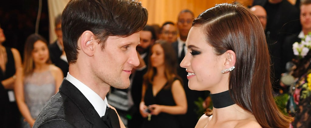 Matt Smith and Lily James Are in the Running For the Met Gala's Cutest Couple