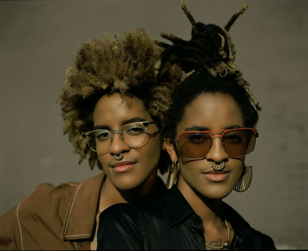Corianna and Brianna Dotson of Coco and Breezy Eyewear