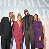 Jay-Z and Beyoncé Knowles celebrated LeBron James's Sports Illustrated sportsman of the year award with LeBron's fiancée, Savannah Brinson. This week brought Jay-Z's 43rd birthday as well.