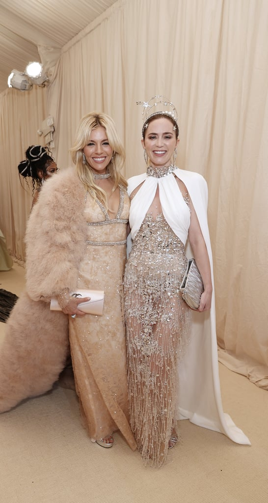 Sienna Miller and Emily Blunt at the 2021 Met Gala