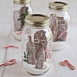 Gingerbread Cookie Cityscapes