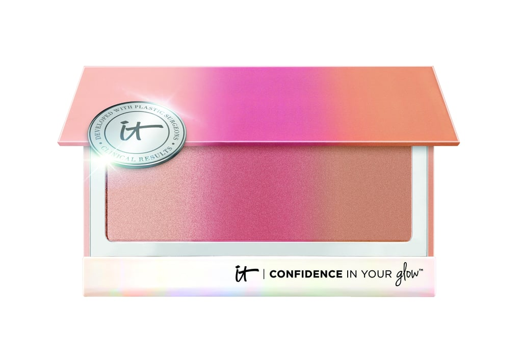IT Cosmetics Confidence in Your Glow Skin-Transforming Healthy Flush Blushing Bronzer