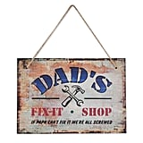 Wooden Sign ($10)