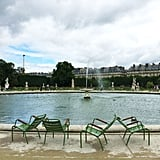 Sit on one of these chairs in the Tuileries for a bit. Maybe even a few hours.