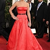 Jennifer Lawrence brought the wow factor to the 2013 red carpet.