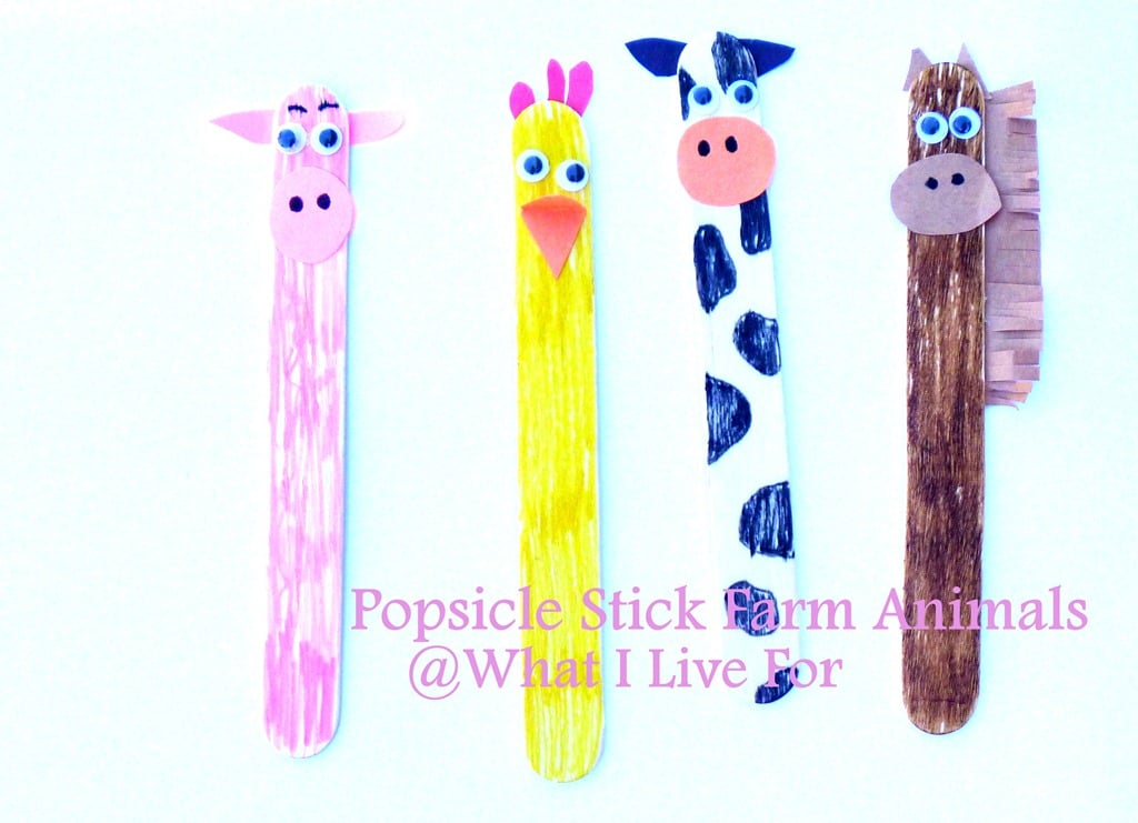 Popsicle Stick Puppets