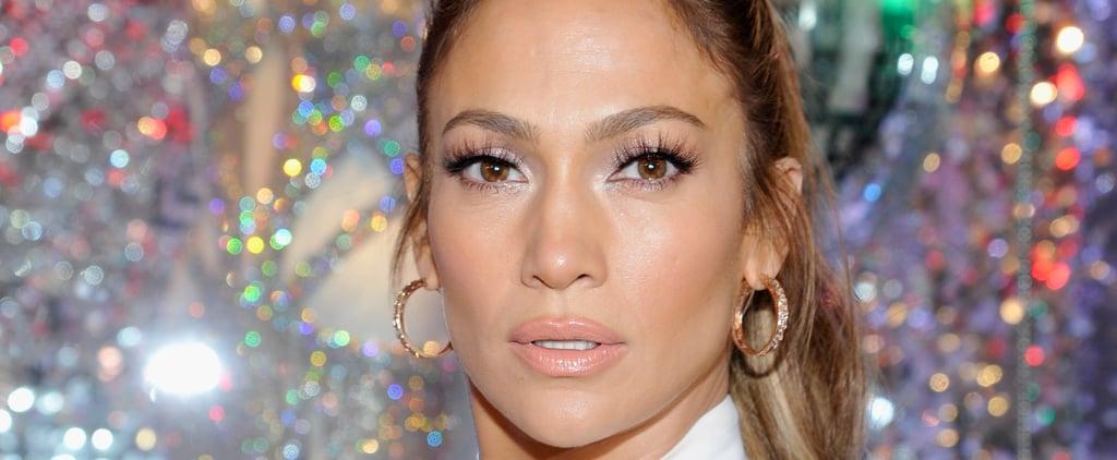 Jennifer Lopez Debuted the Milk-Bath Nail Trend