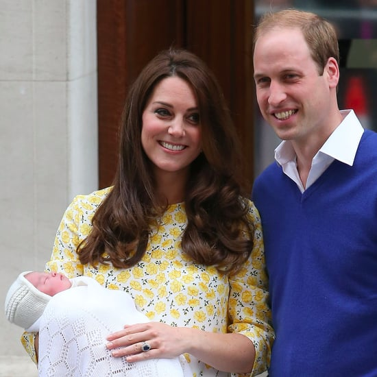 Pictures of Prince William and Duchess Kate's Baby Girl