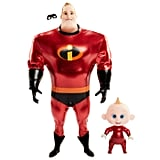 Mr. Incredible and Jack-Jack Action Dolls