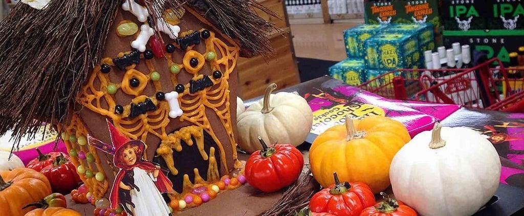 Trader Joe's Halloween Haunted House Chocolate Cookie Kits