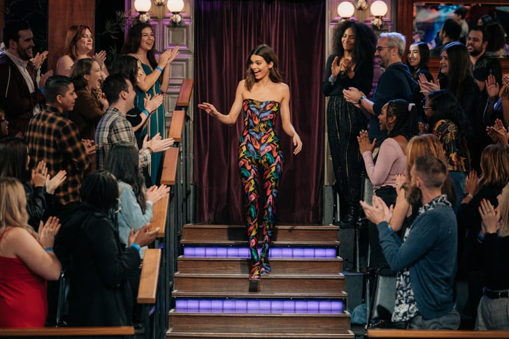 Kendall Jenner Wore A Vintage Jumpsuit On The Late Late Show Popsugar Fashion