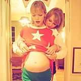 Jaime King and Taylor's Future Godchild