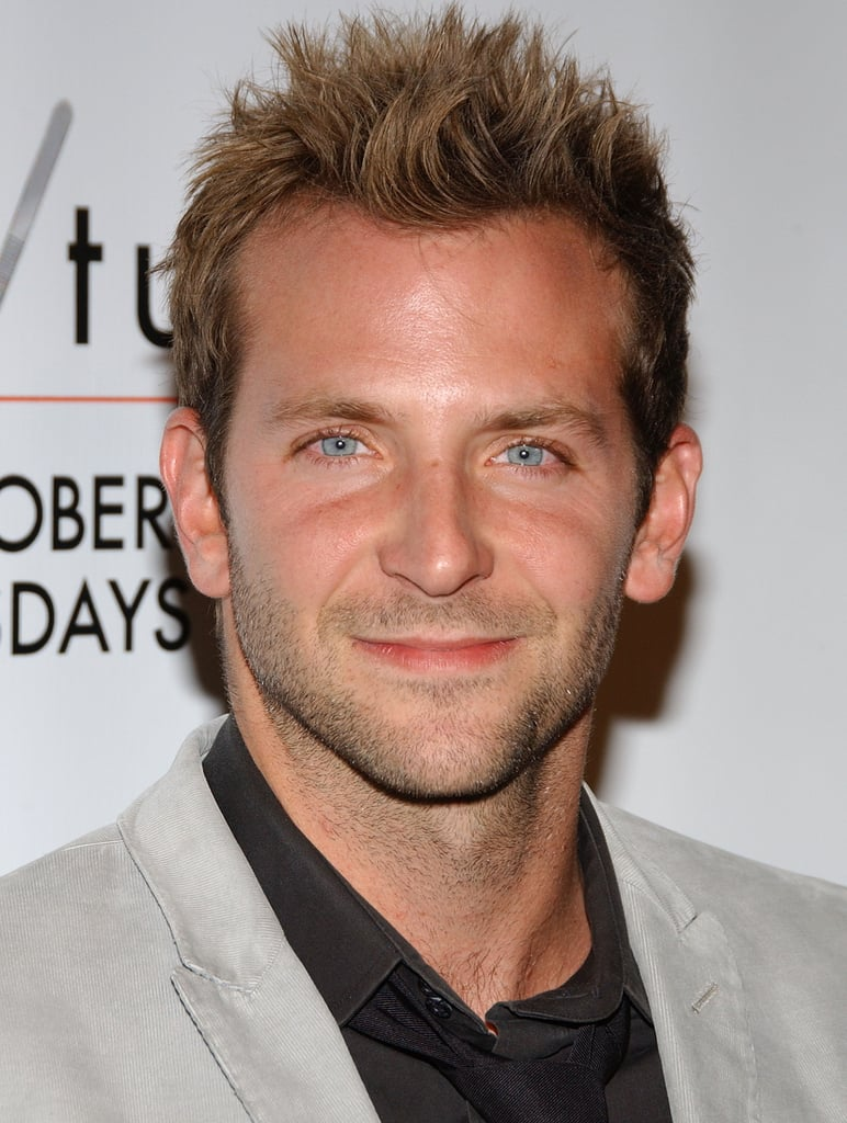 At the season five premiere of Nip/Tuck, Bradley spiked up his dirty-blond hair.