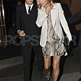 Kate Moss and husband Jamie Hince.