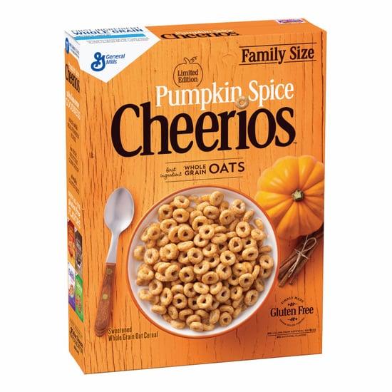 Pumpkin Spice Cheerios Release 2017