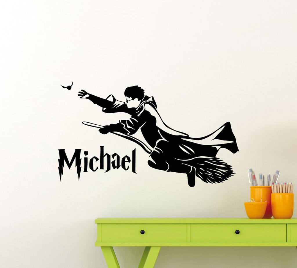 Personalized Harry Potter Wall Decal