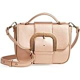 Malibu Skye Oversize Buckle Top Handle Bag