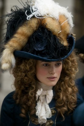 Interview with Keira Knightley Hayley Atwell Costume The Duchess