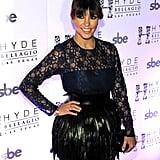 Kourtney Kardashian With Fringed Bangs 2013