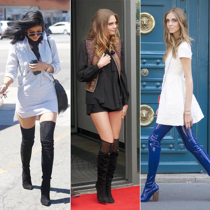 When to Start Wearing Knee-High Boots | POPSUGAR Fashion