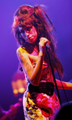 Amy Winehouse Diagnosed With Emphysema