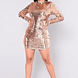Fashion Nova Expose Sequin Dress