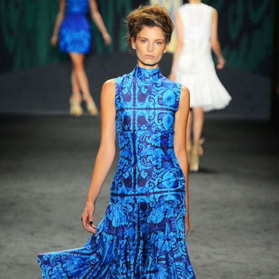 Pictures and Review of Vera Wang Spring Summer New York Fashion Week Runway Show