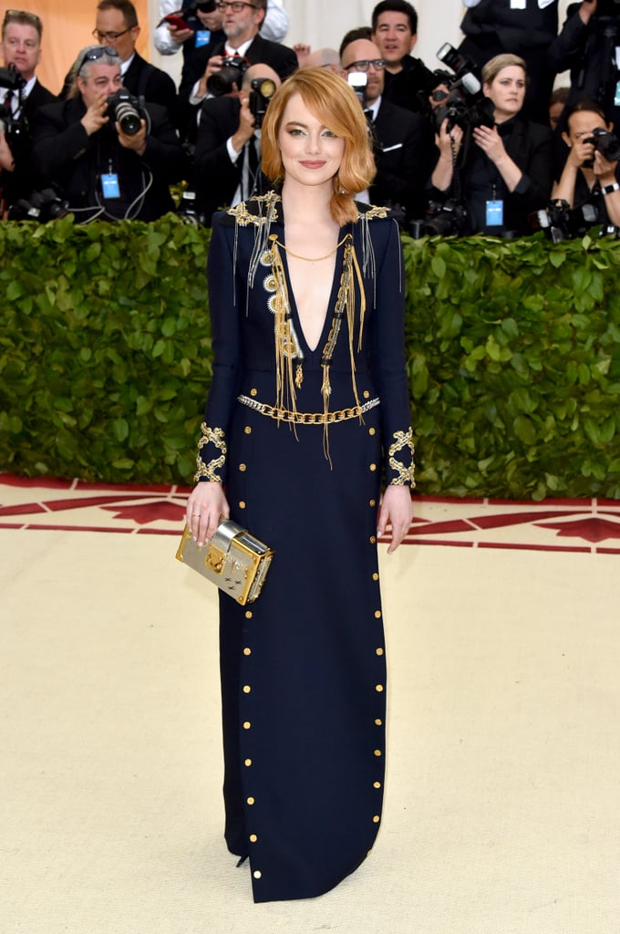 Emma Stone at the 2018 Met Gala