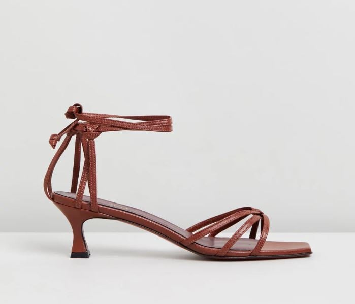 Manu Atelier Lace Sandals ($450)