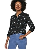 POPSUGAR Essential Button Down Shirt