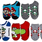 Super Mario No-Show Socks