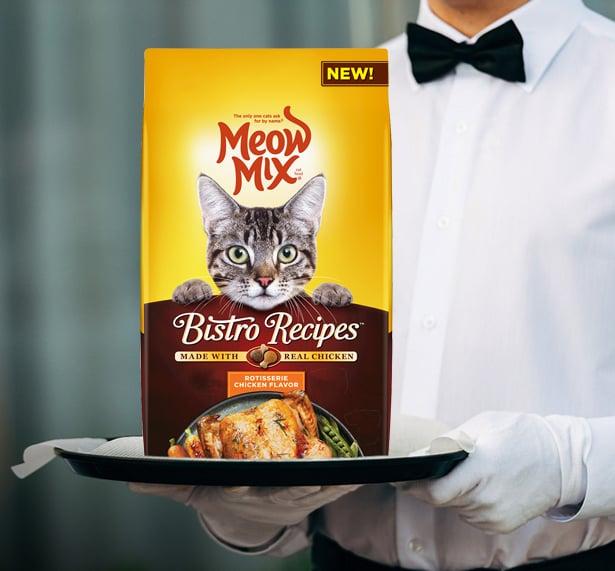 New Meow Mix Bistro Recipes™