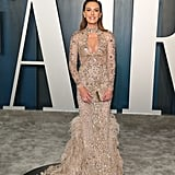 Elizabeth Chambers at the Vanity Fair Oscars Afterparty 2020