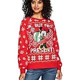 Disney Minnie Presents Christmas Sweater