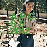 A.P.C sticks to a casual downtown girl mood in its Spring '12 ad. Source: Fashion Gone Rogue