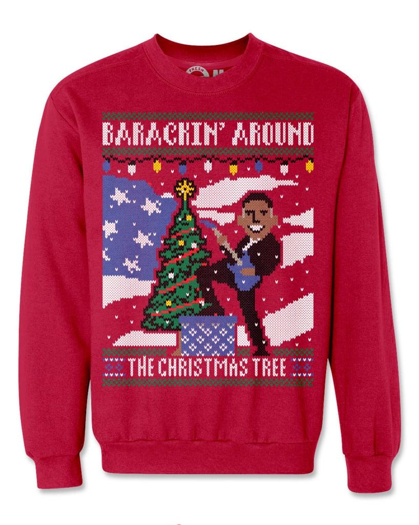 Kim Kardashian and Kanye West Ugly Christmas Sweaters | POPSUGAR ...