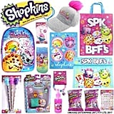 Shopkins Showbag ($28) Includes:  Stamp and pencil set  Mini backpack  Glitter spray