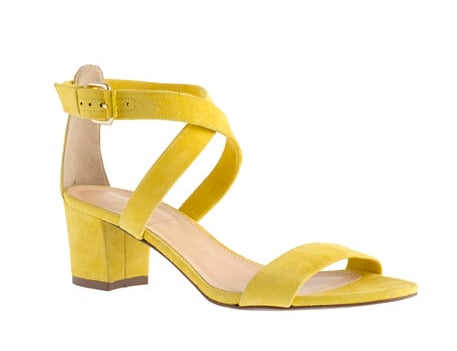 These J.Crew Gabby yellow suede sandals ($198) would add instant flair to everything from your little white dresses to your floral miniskirts to your denim cutoffs. Plus they're comfy, too.