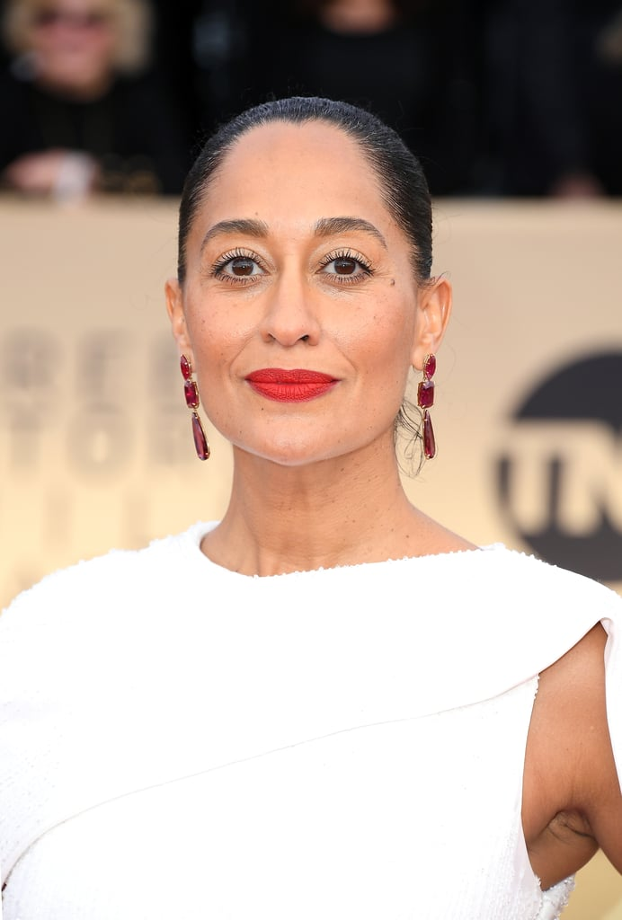 Risultati immagini per tracee ellis ross red carpet makeup