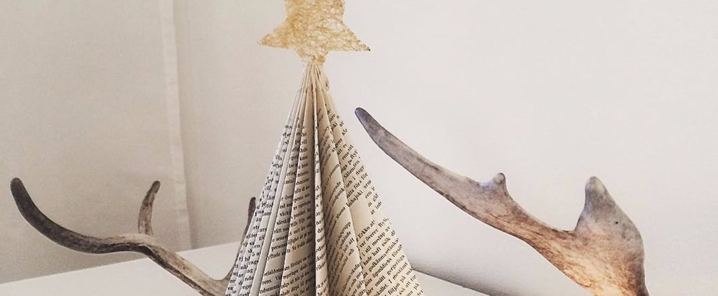 Calling All Book-Lovers! This Is the Christmas Tree Trend You NEED in Your Life