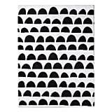 Micro Polyester Rug Scallop ($60)