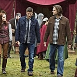 When Sam (Jared Padalecki) and Dean (Jensen Ackles) are called in to investigate the mysterious deaths of a couple of LARPers (that's live-action role-players to you and I), they find Charlie is already on the scene.
