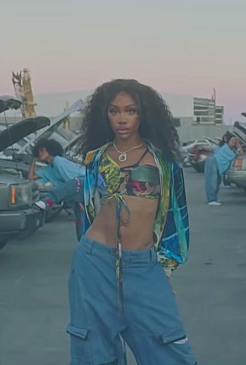 "All of SZA's Looks in the ""Hit Different"" Music Video"