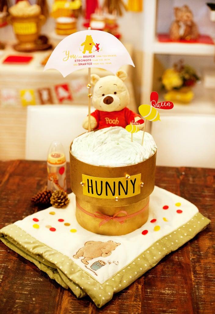 Pretty Winnie The Pooh Baby Shower Ideas Popsugar Moms Photo 15