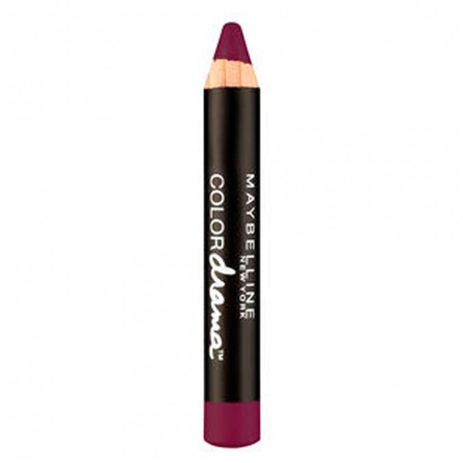 Maybelline NY Color Drama Lipstick in Berry Much, $9.95