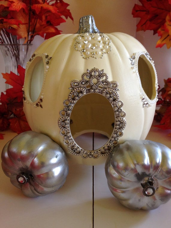 Recreate Cinderella S Pumpkin Carriage By Using A Large