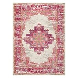 If pink is your favorite color, the Nourison Passion Bordered Ivory Area Rug or Runner ($14-$258) might be your dream decor piece. The vintage finish gives it a worn-in feel, and the oriental design can help give your space a unique, eclectic look.